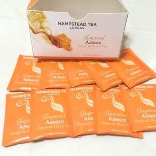 🚚 英國 HAMPESTEAD 有機阿薩姆茶包
