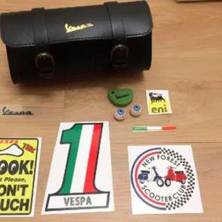 Vespa 偉士牌掛包套組