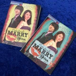 Marry You Wattpad book