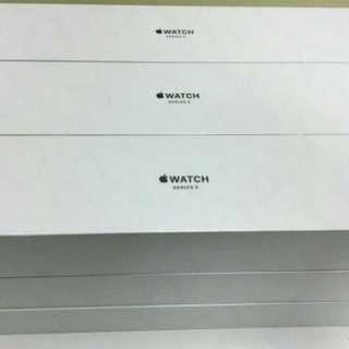 Apple Watch Series 3白色淨盒