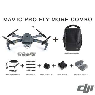 DJI Mavic Pro Fly More Combo Cheras KL