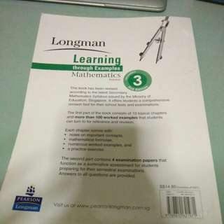 Longman Mathematic Sec 3 Express