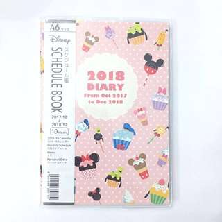 Mickey & Minnie Mouse 2018 Planner Diary Schedule Book