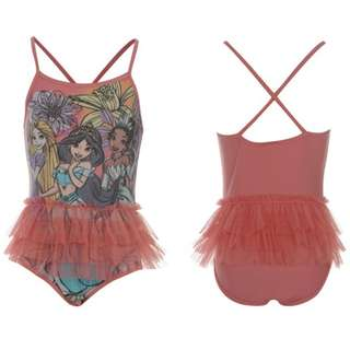 Disney Princess Tutu Swimsuit for 2-3y, 3-4y