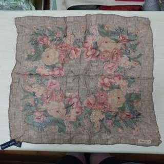 🈹Ralph Lauren Vintage Silk Scraf.
