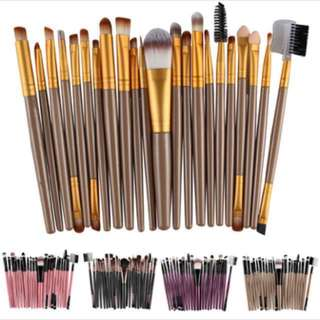 20 Pieces Brush Set for makeup 20pcs