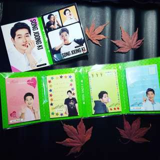 Song Joong Ki Pocket Memo