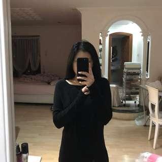 H&M Knit Black Sweater