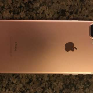132G iPhone 7 Plus rose gold
