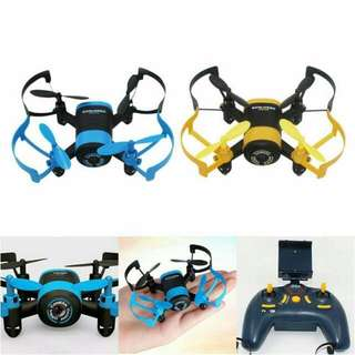 Mini Drone with wifi and handheld remote