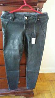 Guess brand new leather pants