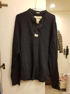 🚚 A&F深藍色針織上衣 XXL號