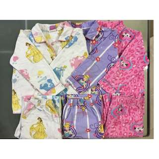 Disney, Bed Bugs Pajamas for 5y, 6y