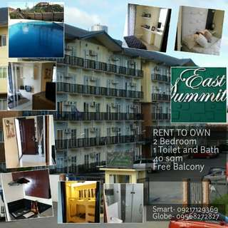 Rent to Own Lipat Agad 2 Bedroom Unit Condo Along Ortigas Ave. Extension