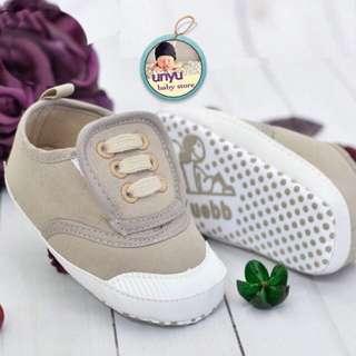 Sepatu Bayi / Prewalker Brown Simply Casual