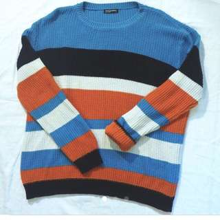 American Apparel Striped sweater