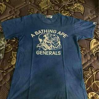 Bathing Ape Indigo General Tee