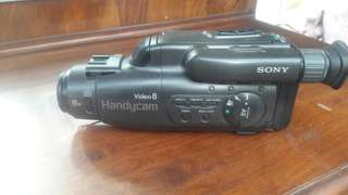 Sony camcorder, needs charger