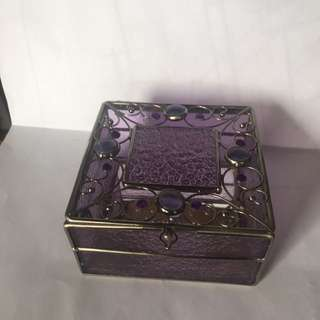 Jewellery Box -purple