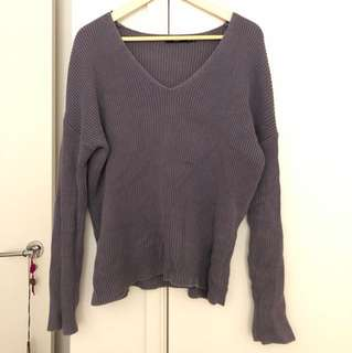 Greyish purple Knit Jumper