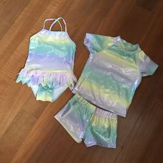 Baby swimming suits