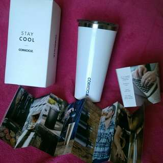 Authentic Corkcicle Triple Insulated Tumbler