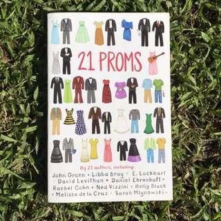 Pre-loved Book: 21 Proms