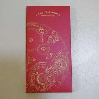A. Lange & Söhne Red Packet Box Set A. Lange & Söhne Red Packet Box Set