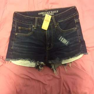 New American eagle high waisted short shorts