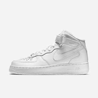 Air Force ones size 7 womans