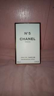 Chanel N5 Authentic Tester