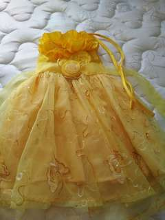 Yellow Gown (like Belle)