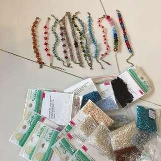 Swarovski and other Beads