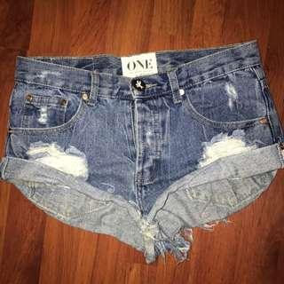One Teaspoon Shorts Size 24