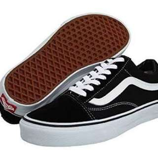 Old school vans size 7