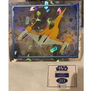 Star Wars Episode 1 Merlin Stickers Collectible