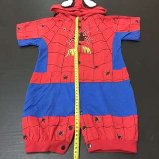 Spiderman Jumper with Hoodie