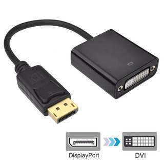 DisplayPort to DVI-D/DVI-I Adapter