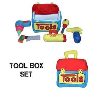 Handmade Soft Toy - Tool Box Set