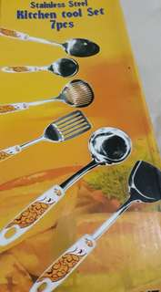 Vicenza Kitchen Tool set (stainless)