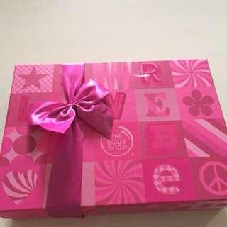 BodyShop British Rose luxury gift set