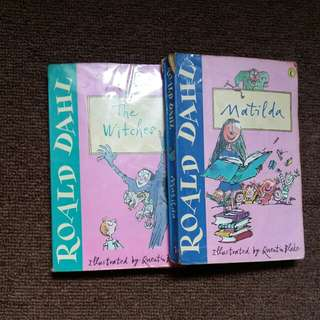 Matilda, The Witches by Roald Dahl