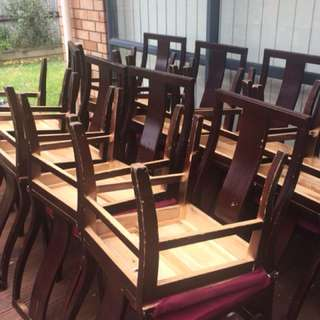 Plenty of vintage style chairs