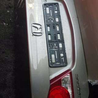 Honda Civic rear boot