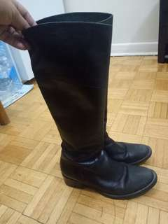 Leather Boots Size 36