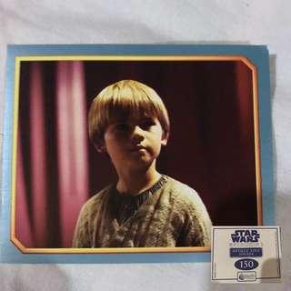Star Wars Episode 1 Merlin Stickers Metallic Edge Collectible set 6