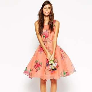 ASOS CNY prom dress