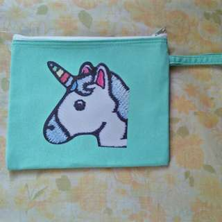 Unicorn Design Make-up Pouch