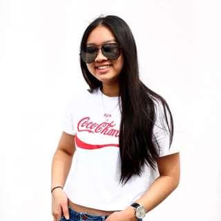 Coco chanel coca cola tshirt