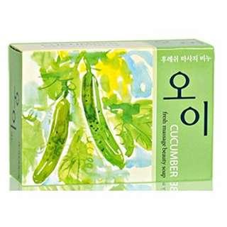 Amoré Pacific Cucumber Beauty Massage Soap
